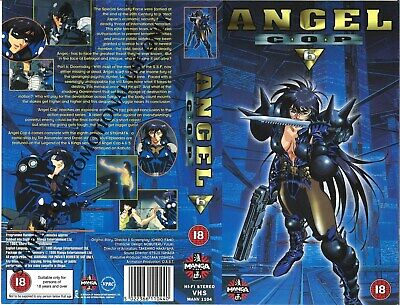 ANGEL COP 1, 2 And 4 Manga Video VHS PAL - £12 99 | PicClick UK