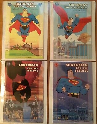 Superman For All Seasons 1-4!!! NM Set!! Mylites2 And Half Backs!!!