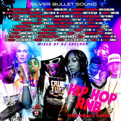 Silver Bullet Sound - Old School R&B & Hip Hop Throwback 2000'S Mix CD