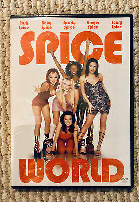 Spice World (DVD, Closed Caption) The Spice Girls Movie Rare BRAND NEW SEALED