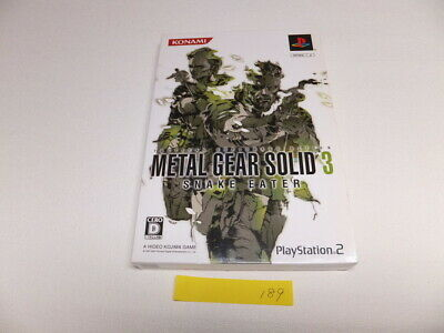 USED Metal Gear Solid 3 Snake Eater  PlayStation2 (189)
