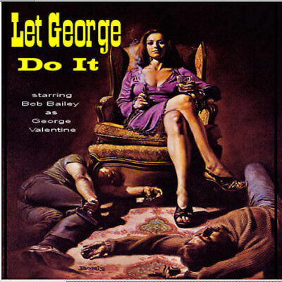 Let George Do It Old Time Radio Show OTR 186 Episodes on 1 MP3 DVD Free Shipping