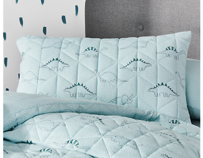 ADAIRS KIDS Kenji Navy COT//JUNIOR BED QUILTED Quilt COVER SET BNIP green check