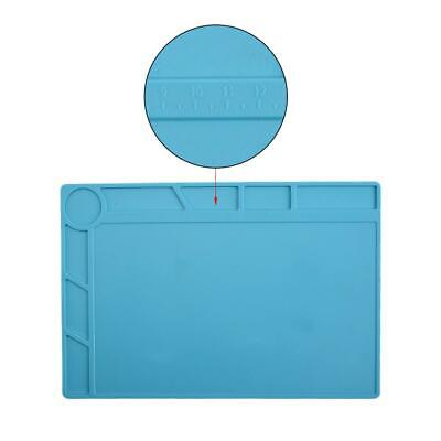 Anti Static Magnetic Heat Insulation Silicone Pad Desk Cushion For Solder Repair