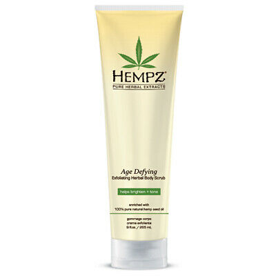 Hempz® Age Defying Glycolic Herbal Body Scrub 265ml