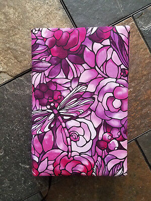 Big Book Cover - Alcoholics Anonymous - Pink Tiffany
