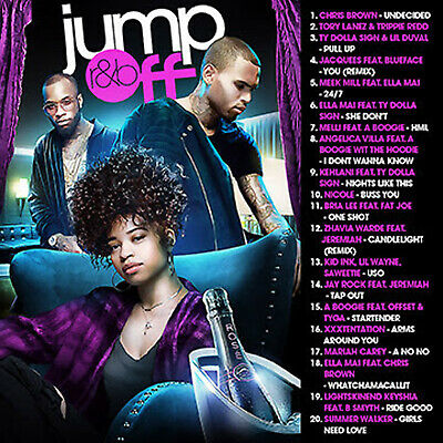 BIG MIKE R&B JUMPOFF JANUARY 2019 (MIX CD) Chris Brown, Jacquees, Nicole Buss...