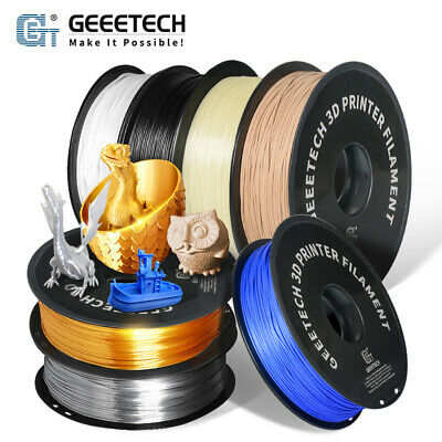 Geeetech 1 kg PLA Filament 1.75mm 10 Colors for 3d Printer