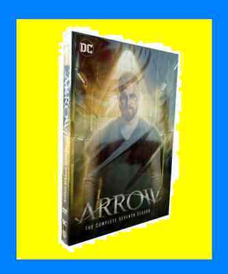 New & Sealed Arrow Season 7 Seven The Complete Seventh DVD Set