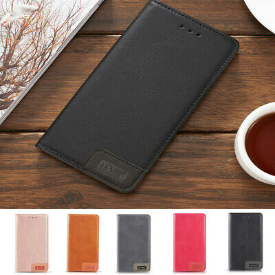 Luxury Leather Back Wallet Magnetic Flip Case Cover For Apple iPhone X 8 7 Plus