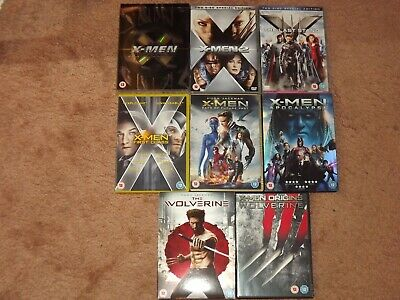 8 X-Men Films DVD Bundle.