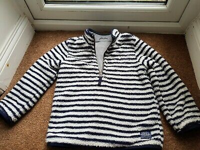 Red Striped dressing gown BNWT Joules Blue 5-6 Yrs NEW