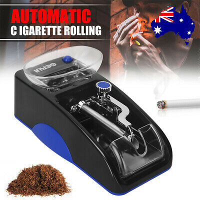 Automatic Electric Cigarette Rolling Machine Maker Roller Tobacco Injector Case