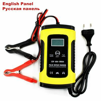Charger Car Battery Starter Jump Power Booster 12v Portable Bank Smart Auto