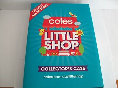 coles little shop mini collectables in good condition