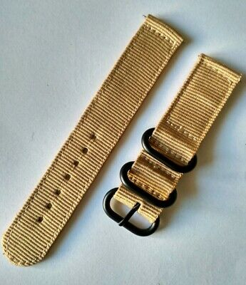22 mm Nato watch Strap Correa Reloj Nylon Watchband Arena