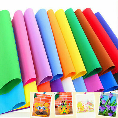 2PCS 50x50cm EVA Foam Sheets Kids Handmade Supplies Sponge Scrapbook DIY Crafts