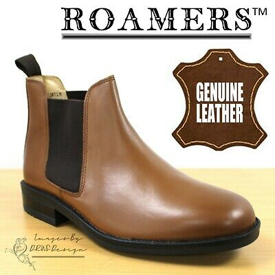 2508e77a5d3 PADDERS JERRY MENS Leather Wide Fit Twin Gusset Chelsea Dealer Boots ...