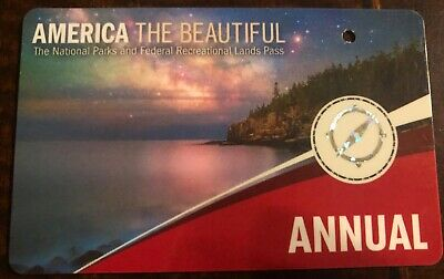 National Parks Annual Pass -- Valid through March 31, 2020 America the Beautiful