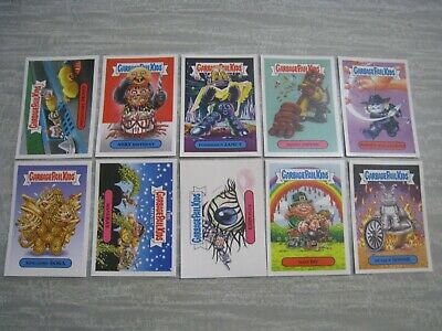 Garbage Pail Kids Oh the Horrible Stickers x 10