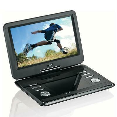 "Logik L12SPDVD17 Portable DVD Player Black With 11.6"" Screen Unit Only Grade C"