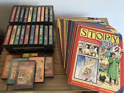 Complete 26 X Marshall Cavendish Story Teller 2 Two All Tapes & Mags Audio