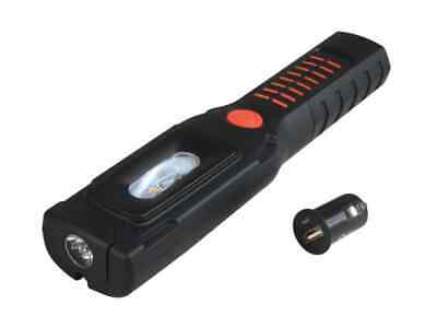 Lighthouse Rechargeable LED Inspection Task Light Torch 300 Lumens Magnetic USB