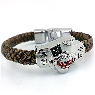 HOT Anime Tokyo Ghoul Strap Bracelet Bangle Wristband Cosplay Costume Prop Gift