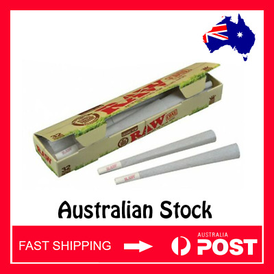 RAW Organic Pre rolled Cones King size x 32 (AUSTRALIAN STOCK - FAST SHIPPING)