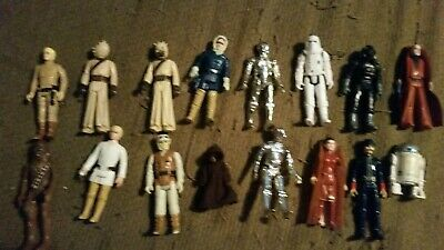 Vintage Star Wars Action Figures And Playsets