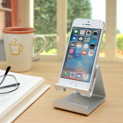 Metal Alloy Phone Holder Smartphones Stand Desktop Mount - Choice of Colours