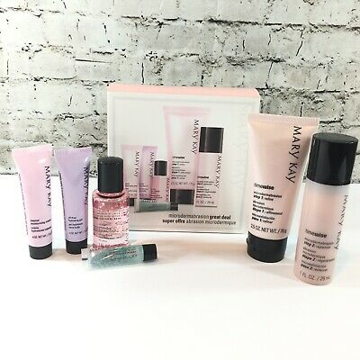 Mary Kay Microdermabrasion Great Deal 6 Piece Set New in Box # 045080