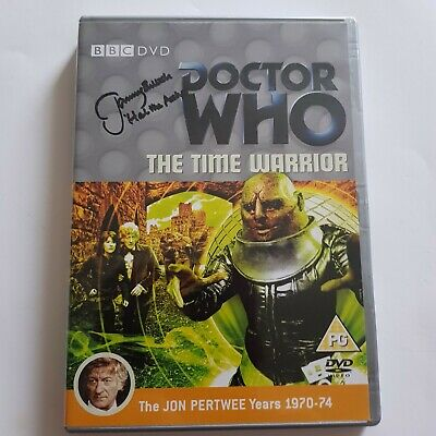 Doctor Who The Time Warrior, DVD, mit Autogramm von Jeremy Bulloch, Hal