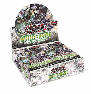 Yu-Gi-Oh Battles of Legend Hero's Revenge Booster Box - Factory Sealed