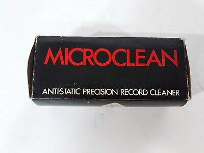 Vintage  Microclean Anti-Static Precision Record Cleaner Brush