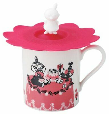 MOOMIN Valley Mug Cup with Cover Little My Pink 320ml MM493-11P Made in Japan