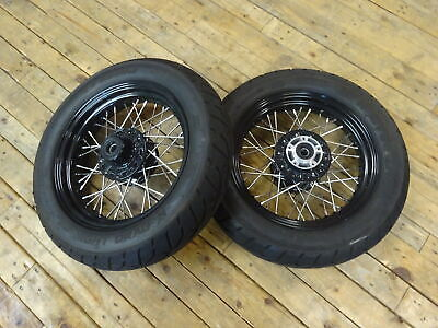 Indian Scout/Scout bobber and sixty -- front and rear rims and tyres