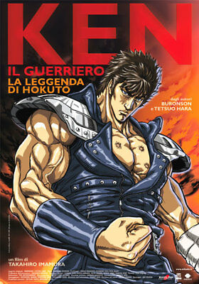 35mm FIST OF THE NORTH STAR FEATURE FILM/MOVIE/TRAILER HOKUTO NO KEN IL GUERRIER
