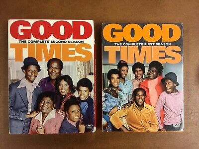 Good Times The Complete First Season And Second Season DVD New Sealed 1, 2