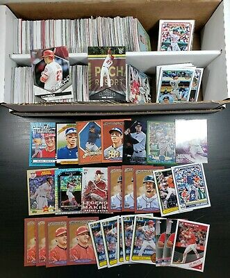 950 Baseball INSERTS ONLY! 2017-2019 NEW Lot Rare HOT Trout Yelich Judge Betts