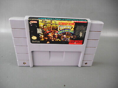 Super Nintendo SNES game Donkey Kong Country 2 Diddy's Kong Quest