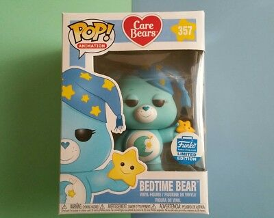 Funko Pop! Animation Care Bears - Bedtime Bear #357 - Funko Shop Exclusive LE