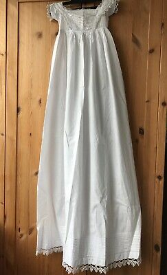 Beautiful Vintage Long Christening Gown