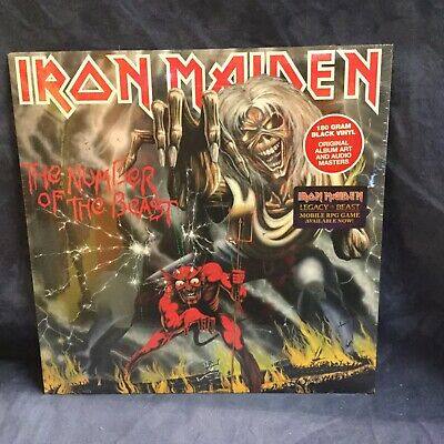 Iron Maiden - Number of the Beast [New SEALED Vinyl LP]