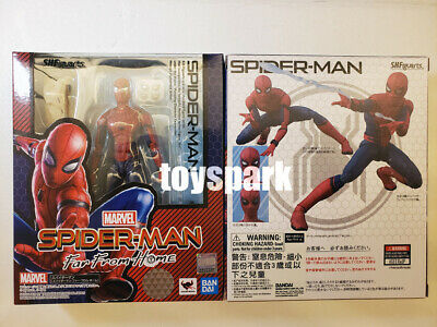 IN STOCK BANDAI S.H.Figuarts Marvel Spider-Man Far From Home SPIDERMAN figure