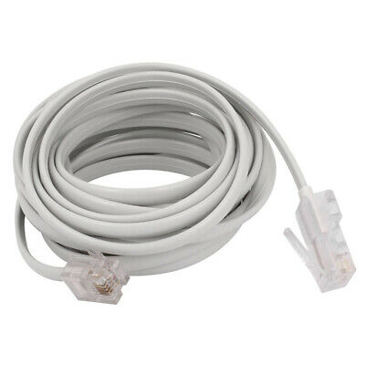 RJ11 6P4C to RJ45 8P4C Modular Phone Internet Extension Cable 3 Meter S6C5
