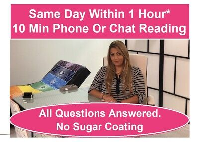 10 min Psychic Phone or Chat Reading $19.99 By Master Psychic Twin Flame Expert