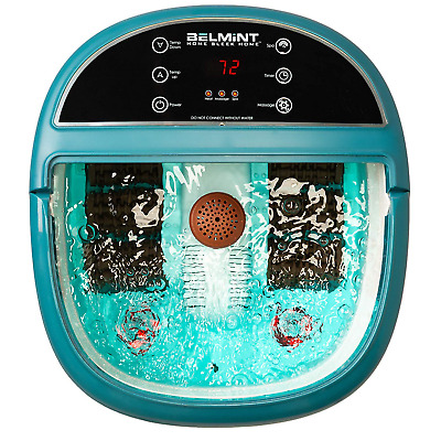 Foot Bath Massager with Heat, Foot Spa Machine Feet Soaking Tub Features Spa 6 &