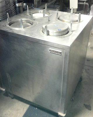 "9"" Plate Warmer Cabinet Dish Storage Lowerator Cart Portable Stainless Lakeside"