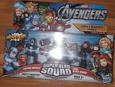 Marvel Avengers Super Hero Squad Earth's Mightiest Heroes